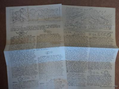 WWII 213 Artillery Battalion Unit Newspaper Lot - 2 issues 1944 Originals