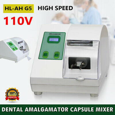 Dental Hi-speed Amalgamator Amalgam Capsule Mixer Blender Lab Equipment 110V USA