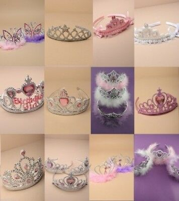 Pack Of Children's Plastic Tiara / Crown: Choose Design & Quantity : Wholesale