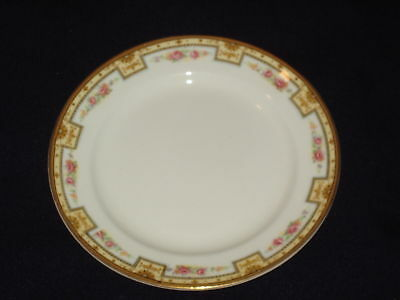 Grindley Afton Luncheon Plate(S) Pink Roses Flower Tan