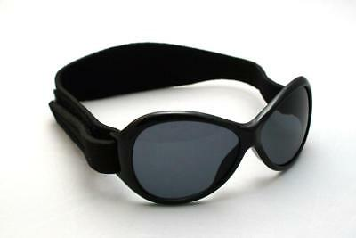 Baby Banz Retro Banz Infants' Sunglasses - Midnight Black for ages 2 Years - 5 Y