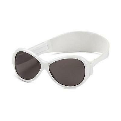 Baby Banz Retro Banz Infants' Sunglasses - Cool White for ages 2 Years - 5 Years