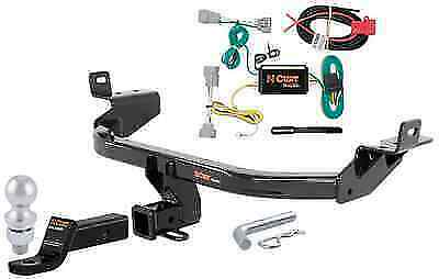 Curt Class 3 Trailer Hitch Tow Package for Jeep Cherokee