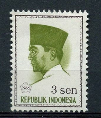 Indonesia 1966 SG#1078, 3s President Sukaarno Definitive MNH #A60122