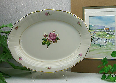 "Syracuse China Federal Shape VICTORIA  12 1/8""  Oval Serving Platter Plate"