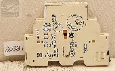 Schneider Electric GVAN11 Auxiliary Contact 6A 690V
