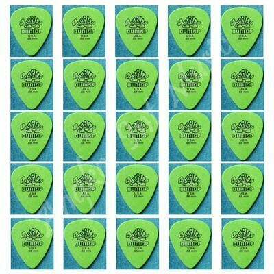 Dunlop standard Tortex 30 x Guitar Picks / Plectrums 30  x Green 0.88 mm Gauge