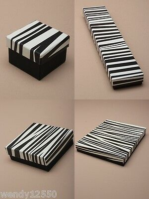 Black & White Zebra Print Gift/jewellery Boxes  : Cheapest On Ebay Wholesale