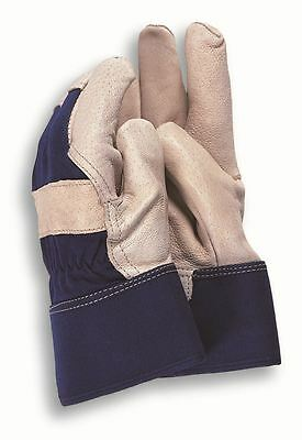 Town & Country Deluxe Soft Leather Washable Gardening Gloves Mens Large Tgl416