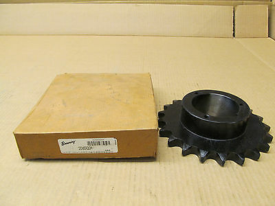 1 Nib Browning 2080Q21 Steel Sprocket 21 Teeth Single 2080 Roller Chain