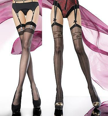 Exclusive Stockings by Fiore ,Designer Patterned 20 Denier