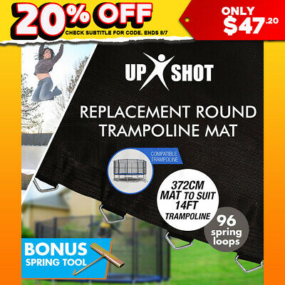NEW Up-Shot 14ft Replacement Trampoline Mat 14ft - 96 Springs