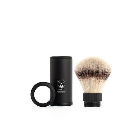 Pennello Barba Da Viaggio Muhle 31M536 Shaving Brush Travel Silvertip Fibre®