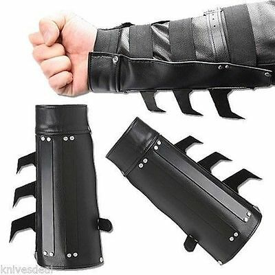 2 PCS Bat Razor Spikes Arm Gauntlet's Costume Cosplay Free Priority Shipping
