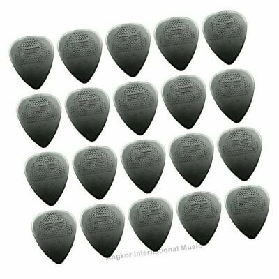 Dunlop Nylon MAX-GRIP 20 x Guitar Picks / Plectrums 1.14 mm Gauge Jim Dunlop USA