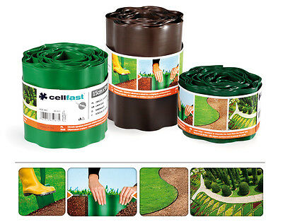 Plastic Garden Grass Lawn Edge Edging Border Fence Wall Driveway Roll Path