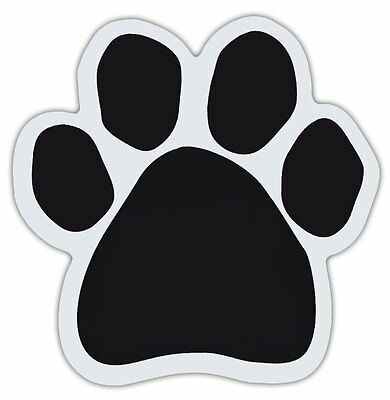 Dog Paw Shaped Magnets: CREATE YOUR OWN (Ships To You Blank, You Add Message)