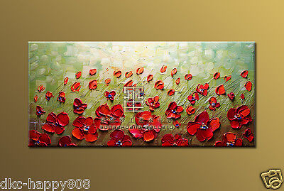 hand painted home decor oil painting on canvas (No frame) X005