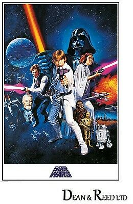 Star Wars A New Hope (One Sheet) Maxi Poster 61cm x 91.5cm PP33337 - 557