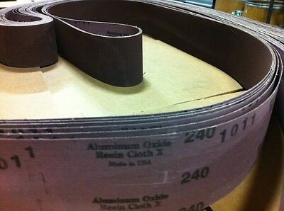 Sanding Belts 3 x 132 - 240 grit A/O @ $1.50 each in lots of 10 for $15/lot