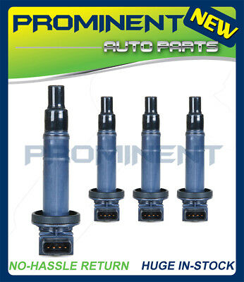 UF316 SET OF 4 Ignition Coil FOR 2000-08 VARIOUS VEHICLES 1.5L C1304 90919-02240