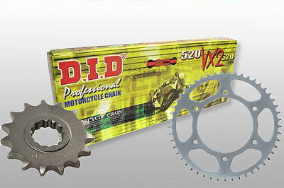 Honda Crf450R 05-16 Sprocket Kit Complete With Did 520 X Ring Chain
