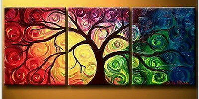 100% hand work Modern Abstract Canvas art Oil Painting no frame