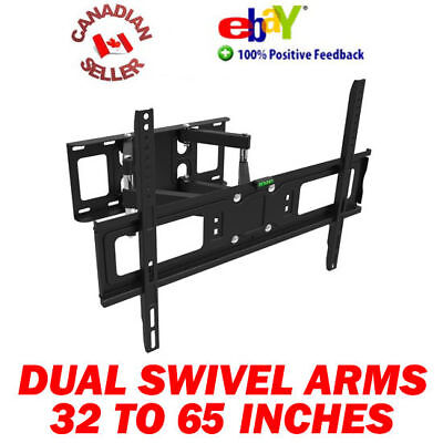 32 - 65 Inch Swivel Articulating Plasma Lcd Led Tv Wall Mount 40 42 47 50 52 55