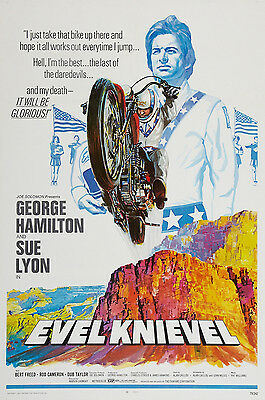 """""""EVIL KNIEVEL  """"..1971 Vintage Movie Poster A1A2A3A4Sizes"""
