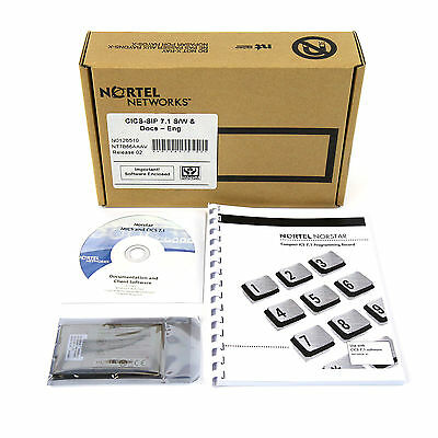 Nortel Norstar CICS R7.1 Software with Documentation - New In Original Box Lot