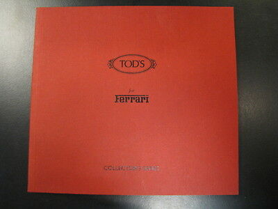 Brochure Tod's for Ferrari Collector's Serie (Shoes) Rare!!