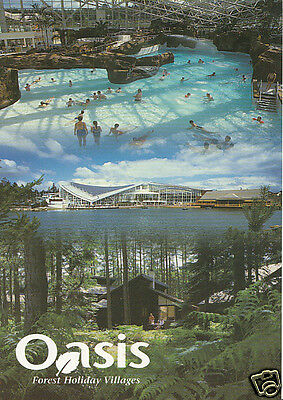 Holiday Postcard - Oasis - Forest Holiday Villages   BX744