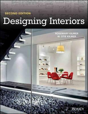 Designing Interiors by Rosemary Kilmer (English) Paperback Book Free Shipping!