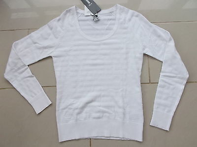 Ladies adidas Naval Sweater White Large or XL *Brand New*