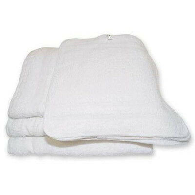 100 Cotton Terry Cloth Cleaning Towels Shop Rags 12X12 Irregular
