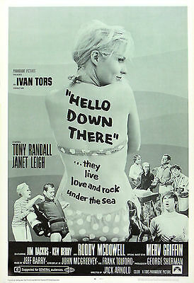 """""""HELLO DOWN THERE"""" RODDY MCDOWELL .Classic Movie Poster A1A2A3A4 Sizes"""