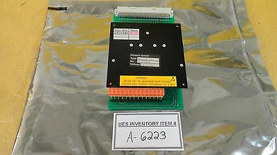Infranor MH0606 P43 Servo Amplifier Drive Board Used Working