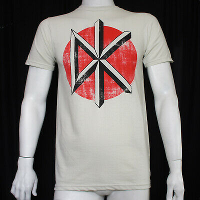 Authentic DEAD KENNEDYS Band Distressed Logo Vintage White T-SHIRT S-2XL NEW