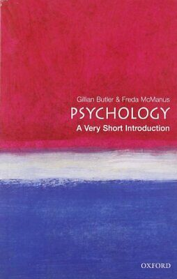Psychology: A Very Short Introduction (Very Short... by McManus, Freda Paperback