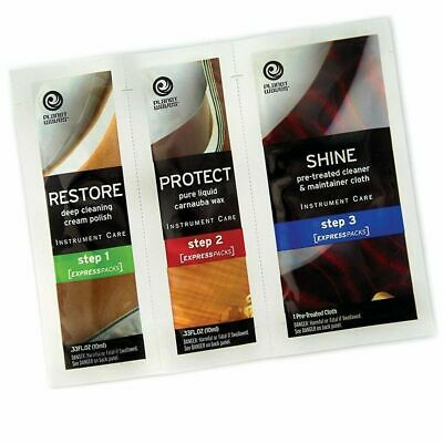 Planet Waves Guitar Polish Express Pack Restore Protect Shine PW-PK New