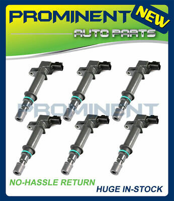 Set of 6 Ignition Coils For Various Dodge Jeep Raider 3.7L UF270 C1231 56028138
