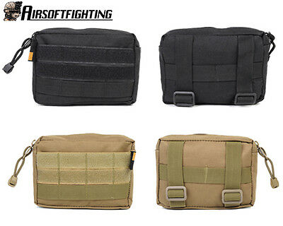 2Color 600D Tactical Military Molle Utility Accessory Magazine Pouch Bag Black