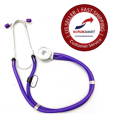 New EMI Sprague Rappaport Stethoscope - Color Frosted Purple US Seller Free Ship
