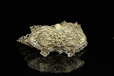 Perfect Silver Hand Craft Filigree Belt