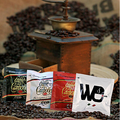 100 Ese Coffee Pods 44mm variety pack - Espresso - Ristretto - 100% Arabica - We