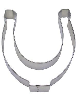 "Horseshoe Cookie Cutter 5"" Horse, Western"