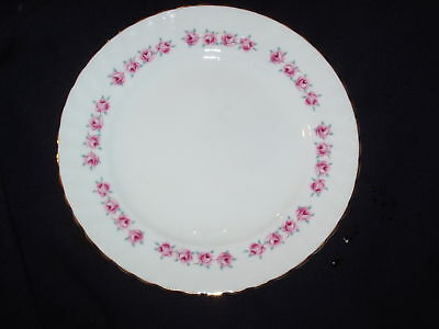Ridgway Royal Adderley Pink Roses Swirled Salad Plate