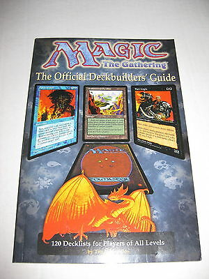 Magic the Gathering - The Official Deckbuilder's Guide CCG TCG