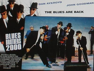 BLUES BROTHERS 2000 - 11x14 US Lobby Cards Set - Dan Aykroyd, John Goodman