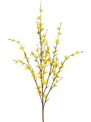 "38"" Forsythia Branch (Pack of 24) Artificial Flower Silk Plants  729"